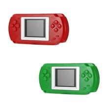 Powstro gra dla dzieci Handheld player 2 Cal ekran 502 kolorowy ekran konsole odtwarzacz gier do telewizora z 268 różnymi grami