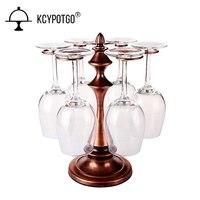 European style retro wine cup rack Creative hanging upside down wine glass holder