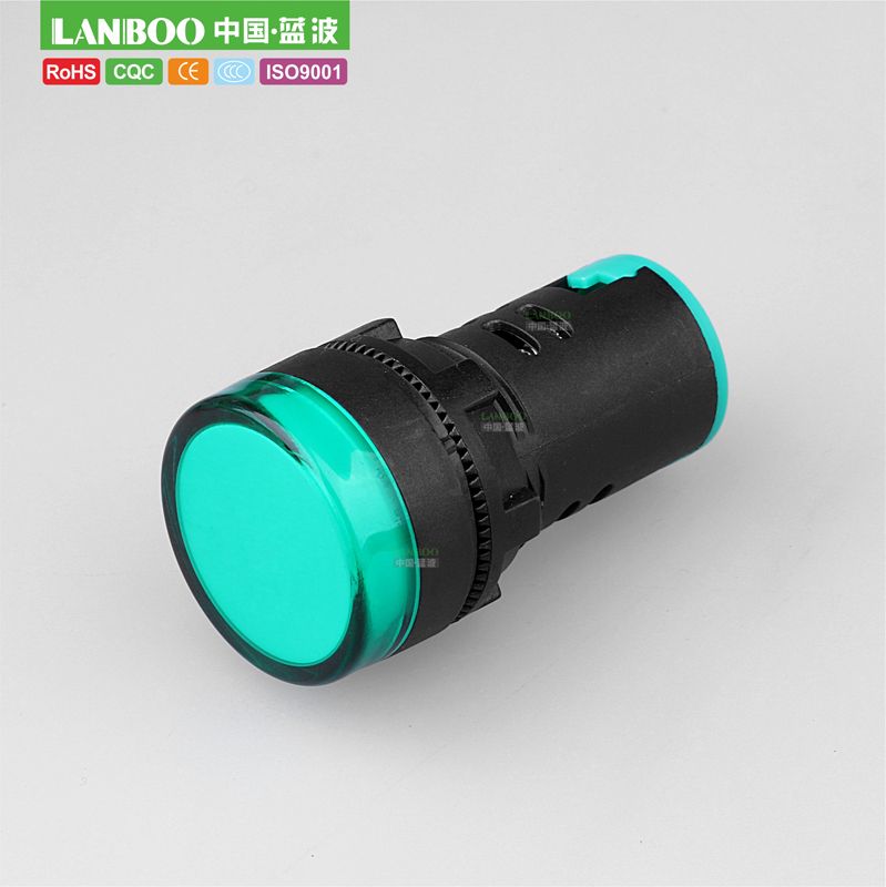 10PCS Blue 22mm 12V LED Indicator Power Signal Light Pilot Panel Lamp Round