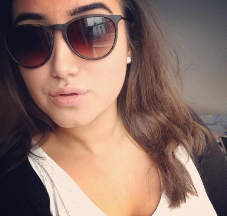 JackJad 2017 Mode Vrouwen Ovale Stijl Erika Velet Zonnebril Vintage - Kledingaccessoires - Foto 5