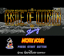 Castle Of Illusion Starring Mickey Mouse - Sega Mega Drive For Genesis 1