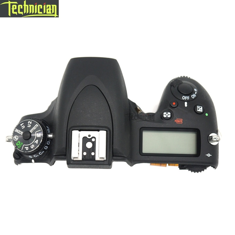 D750 Top Cover With  LCD Screen Camera Repair Parts For Nikon
