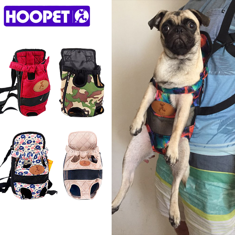 HOOPET Pas nosilec moda rdeča barva Travel pes nahrbtnik dihanje - Izdelki za hišne ljubljenčke