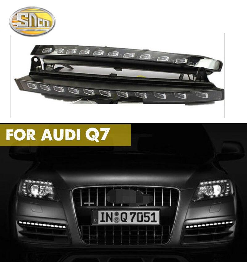 For Audi Q7 2006 2007 2008 2009,Yellow Turning Signal Light Car DRL Waterproof 12V LED Daytime Running Light Fog Lamp Bulb for audi q7 2007 2008 2009 new pair of halogen front fog lamp fog light with bulbs 8p0941699a 8p0941700a