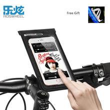 Полностью водонепроницаемая сумка для телефона roswheel на велосипед