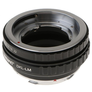 Image 5 - NEWYI DKL LM Adapter for Voigtlander Retina Deckel Lens to Leica M TECHART LM EA7 camera Lens Converter Adapter Ring