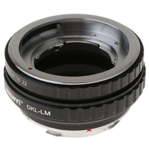 Image 5 - NEWYI DKL LM adaptateur pour Voigtlander Retina Deckel lentille à Leica M TECHART LM EA7 caméra lentille convertisseur adaptateur anneau