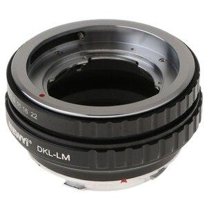 Image 5 - Newyi DKL LM Adapter Dành Cho Ống Kính Voigtlander Retina Ngàm Chuyển Deckel Ống Kính Leica M TechArt LM EA7 Ống Kính Máy Ảnh Adapter Chuyển Đổi Nhẫn
