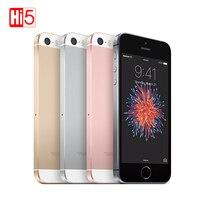 Разблокирована Apple iphone SE мобильный телефон 2 ГБ Оперативная память 16 ГБ/64 ГБ Встроенная память 4,0 чип A9 iOS двухъядерный LTE отпечатков пальцев
