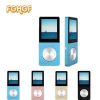 Original T01 Lossless HiFi MP3 Music Player Touch Screen High Sound Quality Metal MP3 E Book
