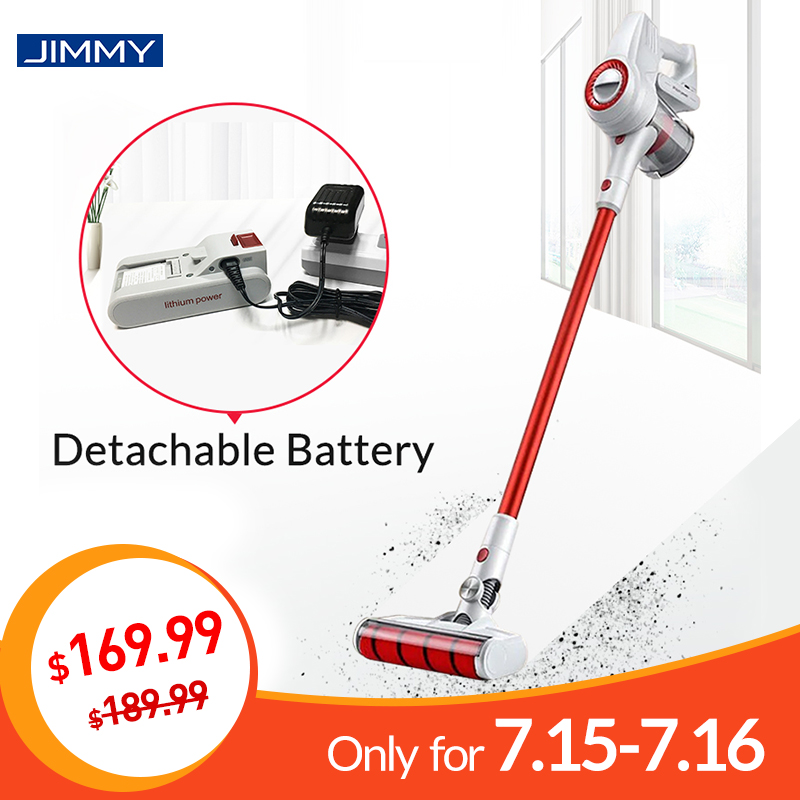 xiaomi jimmy jv51 handheld cordless vacuum cleaner for home portable wireless 115aw suction. Black Bedroom Furniture Sets. Home Design Ideas