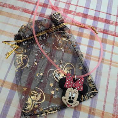 Jual Hot 1 Pcs PVC Kartun Gambar Mickey Tali Rantai Kalung Liontin Minnie Lucu Pesona Kalung Kalung Anak Pesta Fashion perhiasan