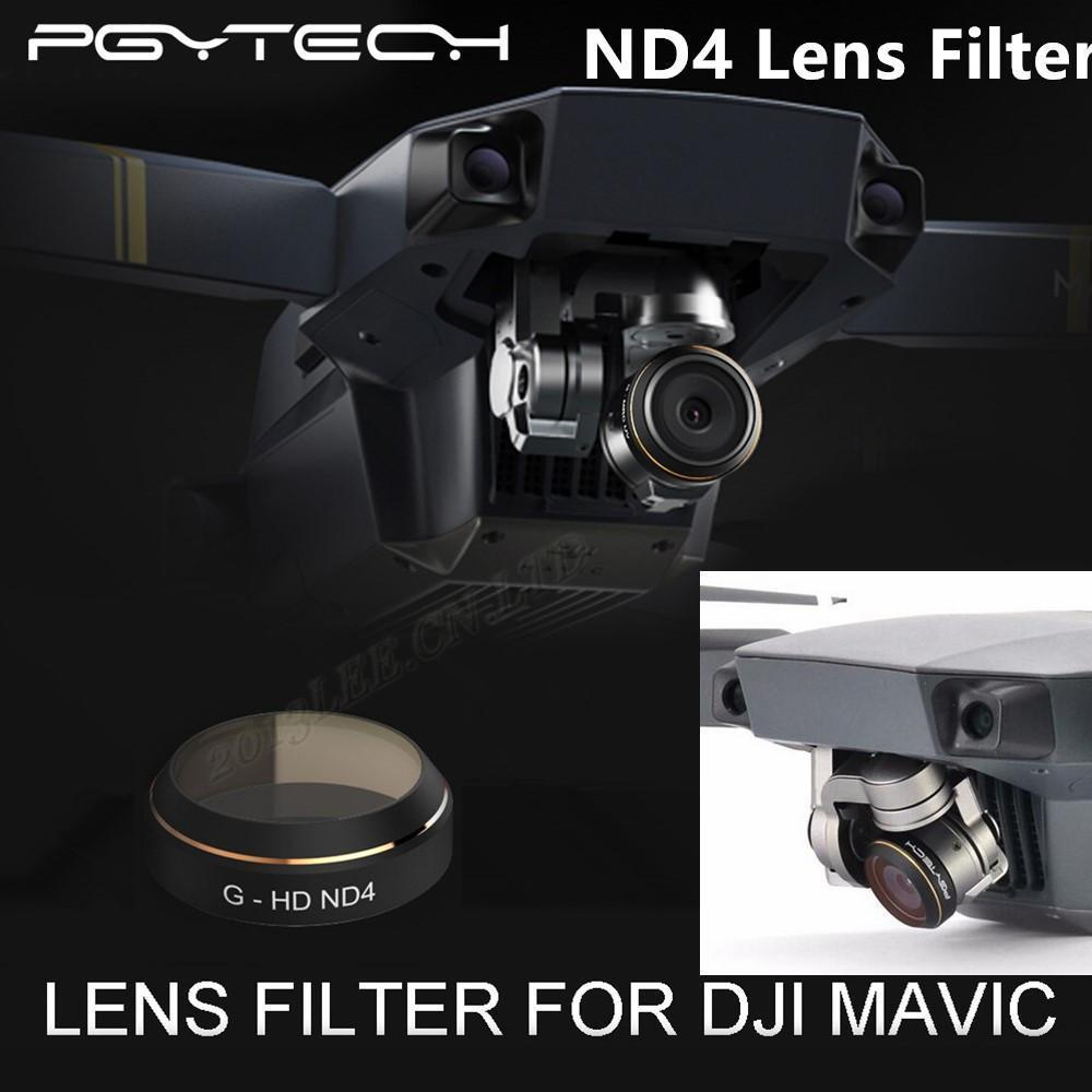 PGY ND4 Filter Lens Filters for DJI MAVIC Pro Drone Accessories gimbal Lens Filter Quadcopter parts