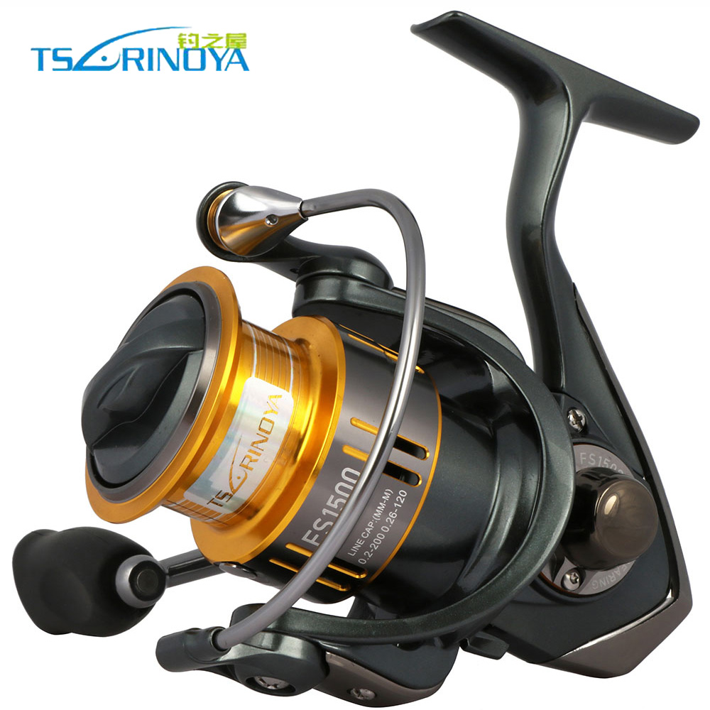 Trulinoya Spinning Fishing Reel Saltwater Fishing Wheel Line Cup Ultra-light Metal Real 9+1BB Lure Wheel 1500 2000 Series цены