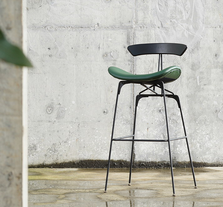 Excellent Us 289 0 Modern Classic Fashion Design Luxury Loft Metal Popular Pu Leather Upholstered Soft Cover High Bar Chair Counter Stool Chair 1Pc In Bar Machost Co Dining Chair Design Ideas Machostcouk
