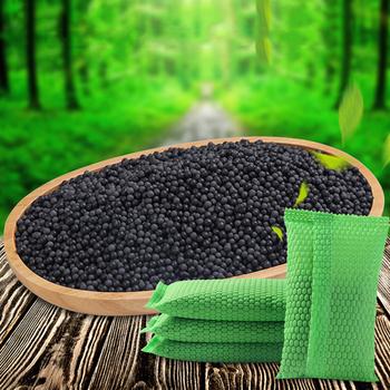 Bambusa węgiel drzewny worek śmierdzący usuwania węgiel aktywny szafy buty lodówka dezodorant odwanianie tanie i dobre opinie JE193996 13 5*7 5cm 1 pcs Activated Carbon Non-woven fabric+ Bamboo charcoal