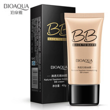BIOAQUA Natural Cover Moisturizing BB & CC Creams Whitening Beauty Face Cosmetics Foundation Makeup Base Concealer 40g