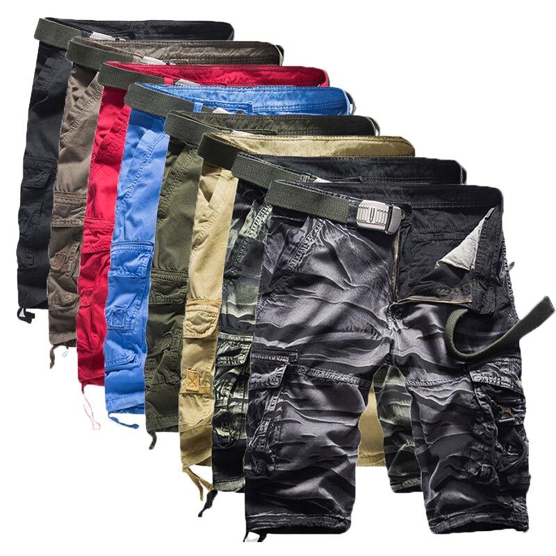 6 Shorts Man Brand Fashion Mens Bermuda Short Men Homme Casual Cargo Beach Shorts Men Summer Beachwear Military Camouflage Short