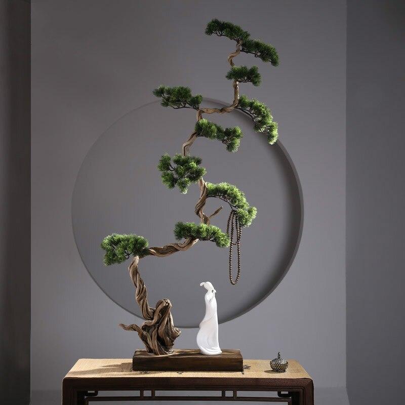Китайский дзен корень резьба украшения дзен жизнь сухостой Пейзаж украшения для офиса дома подарок садовый декор