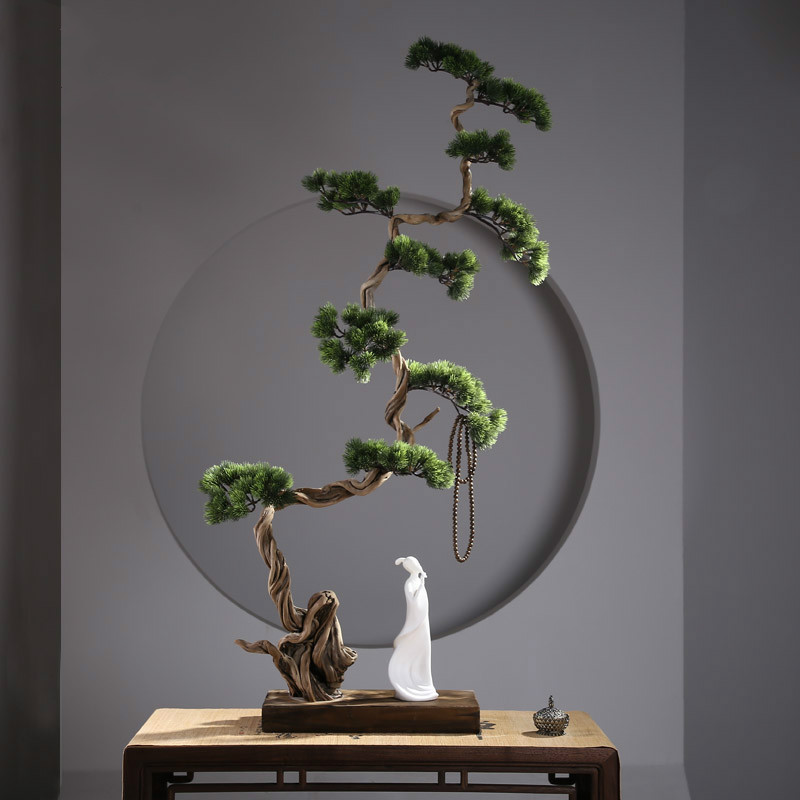 Chinese Zen Root Carving Decoration Zen Life Dead Wood Landscape Office Home Decoration Gift Garden Decor