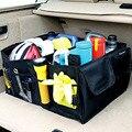 2016 caixa de triagem de armazenamento mala do carro caixa de luva caixa não tecido saco de compras carrinho cobre