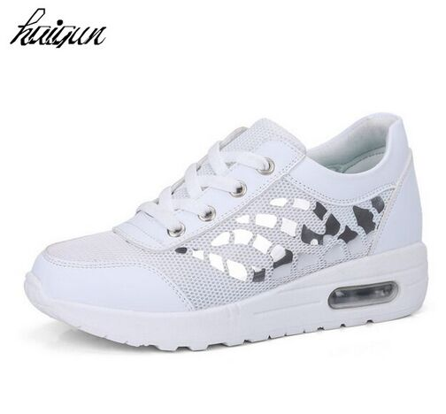 Women Casual Shoes Summer Style Outdoor Breathable Low Top Shoes Woman Flat Heels Sport Ladies Shoes Size 35-40
