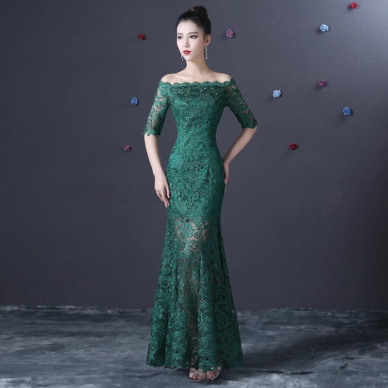 Online Get Cheap Dark Green Dresses for Juniors -Aliexpress.com ...
