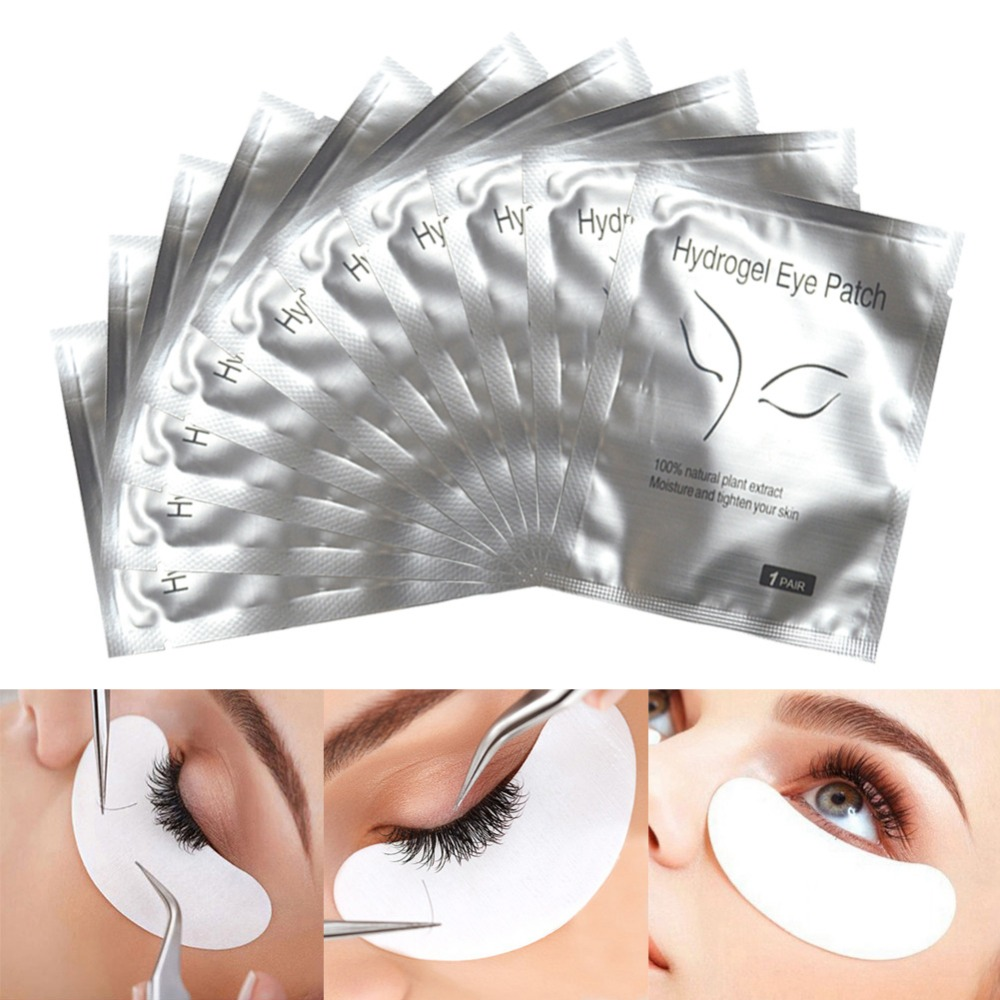 25 Bags Hydrogel Eye Pads Lash Eyelashes Paper Patches Makeup Tools Eyelash Extension Lashes Cosmetic Tools