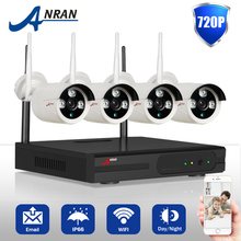 Special Offer ANRAN Wireless Surveillance Kit Outdoor Night Vision Security Camera WIFI 720P HD CCTV System 1TB HDD Selectable