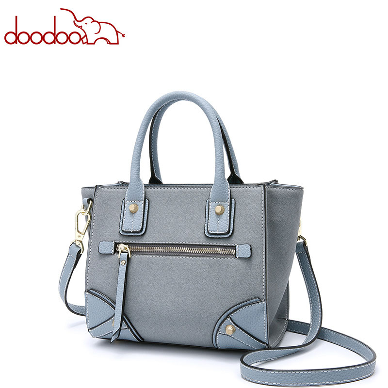 DOODOO Women Smile Handbag PU Leather Messenger Bags Female Fashion Retro Handbag Crossbody Bag bolsa Shoulder Bags купить в Москве 2019