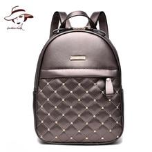 Luxury Brand New Frauen Leder Rucksack Mochila Mode damen Rucksäcke Mädchen Schultasche Hohe Qualität Ladies Rucksack Taschen