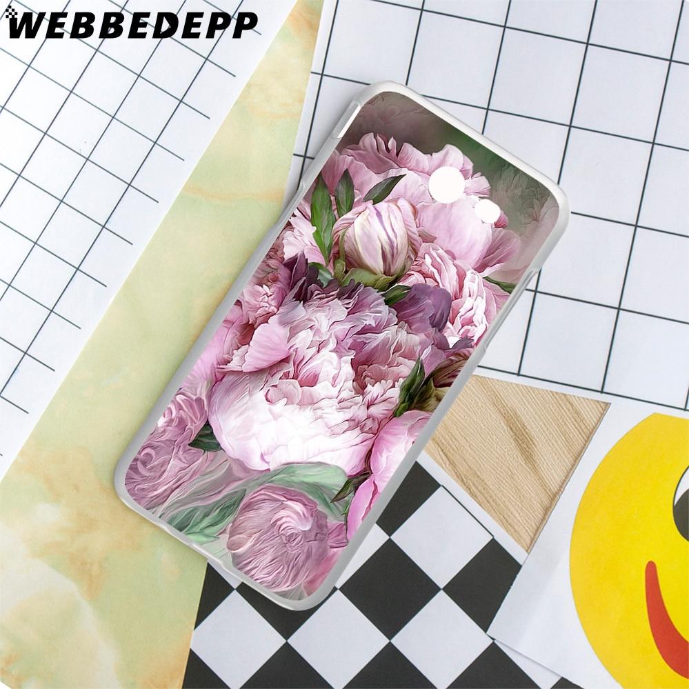 WEBBEDEPP Peony Sunflowe Rose Daisy Flower Case for Galaxy J3 J5 J1 2 J7 2015/2016/2017/ J2 Prime Ace EU US Version