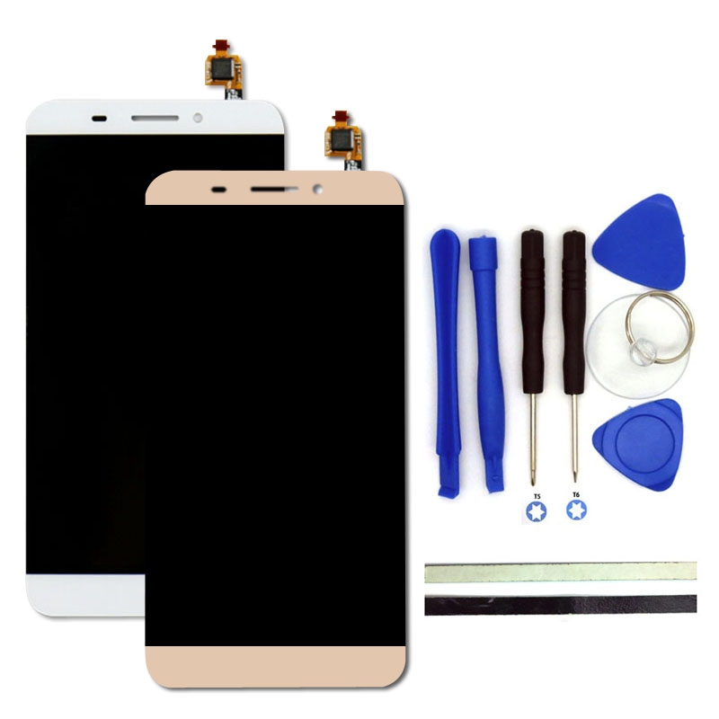 все цены на  100% New For Letv  X600 LCD Display + Digitizer Touch Screen Replacement For Letv le 1 5.5inch Cell Phone Parts With Free Tools  в интернете