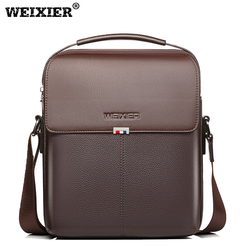 2018 New Fashion PU Leather Male Shoulder Crossbody Bags Messenger Small Flap Business Casual Handbags crossbody ipad briefcase