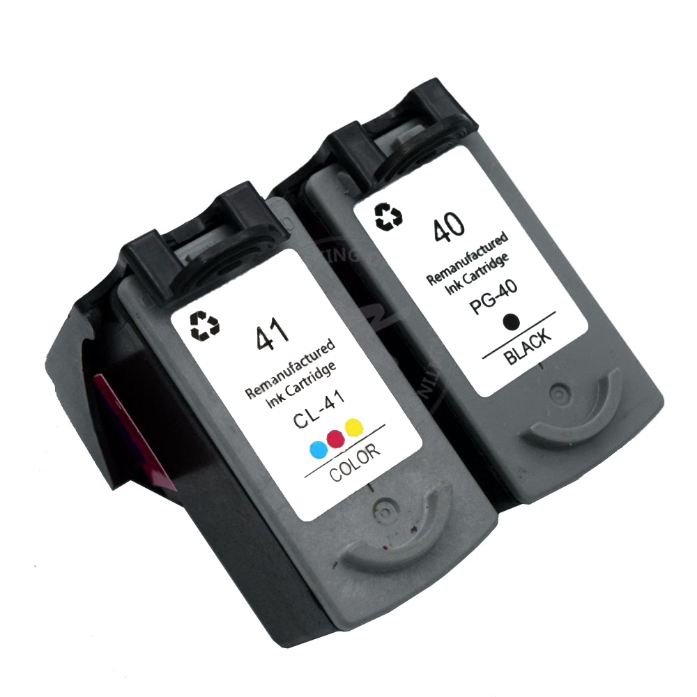 Free shipping CK PG40 PG41 XL Ink Cartridge 40 41 for Canon PIXMA iP1600 iP1200 iP1900 MX300 MX310 MP160 MP140 MP150 MP145 198