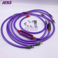 Universal Racing Fire dragon line Car Earthing Cable Grounding Cable Ground Wire Kit