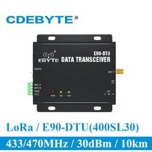 E90 DTU 400SL30 LoRa 30 дБм модем RS232 RS485 433 МГц RSSI реле IoT vhf беспроводной модуль приемопередатчика