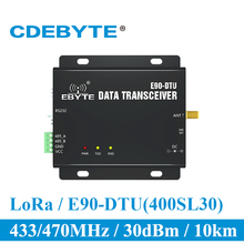 E90 DTU 400SL30 Lora 30dBm Modem RS232 RS485 433Mhz Rssi Tiếp IOT Không Dây VHF Thu Phát RF Thu Phát