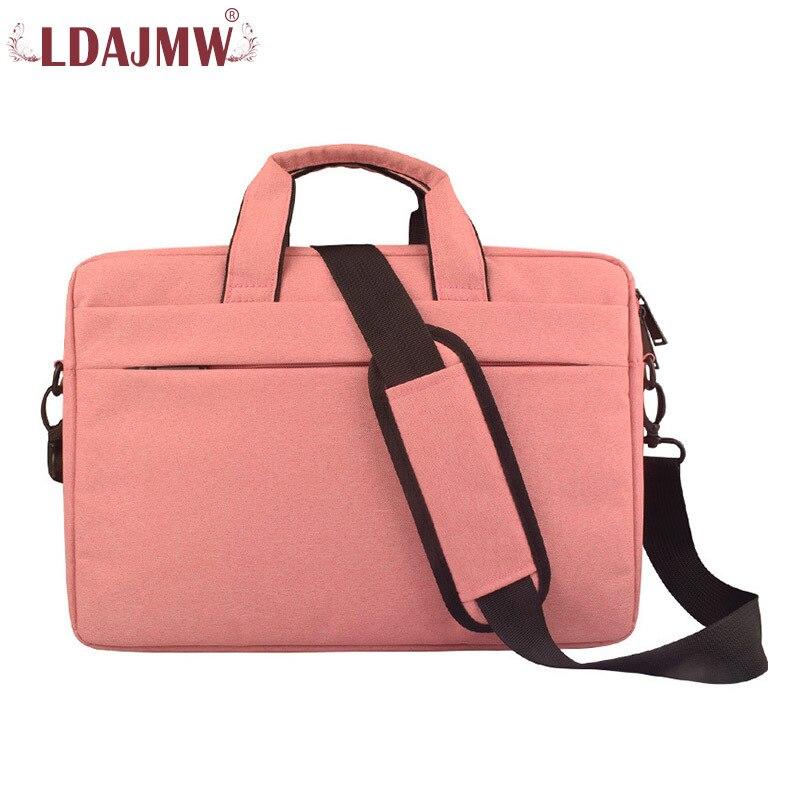 LDAJMW Men Women Portable Shoulder Bag Crossbody Waterproof Computer Briefcases Laptop Tote