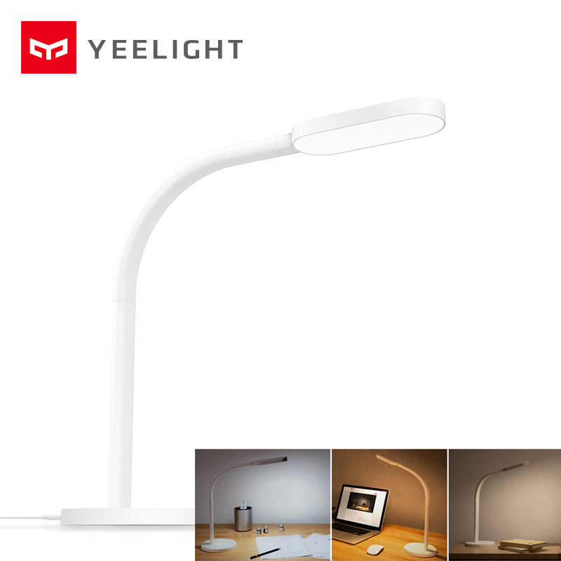 Original Yeelight LED Smart Desk Lamp Rechargeable 5W LED Table Desk Lights Folding Touch Adjust Brightness Study Table Lamps