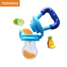 Mother Kids - Feeding - Baby Nipple Safe & Health Portable Soother Fresh Food Feeding Pacifier For 4-9 M Baby