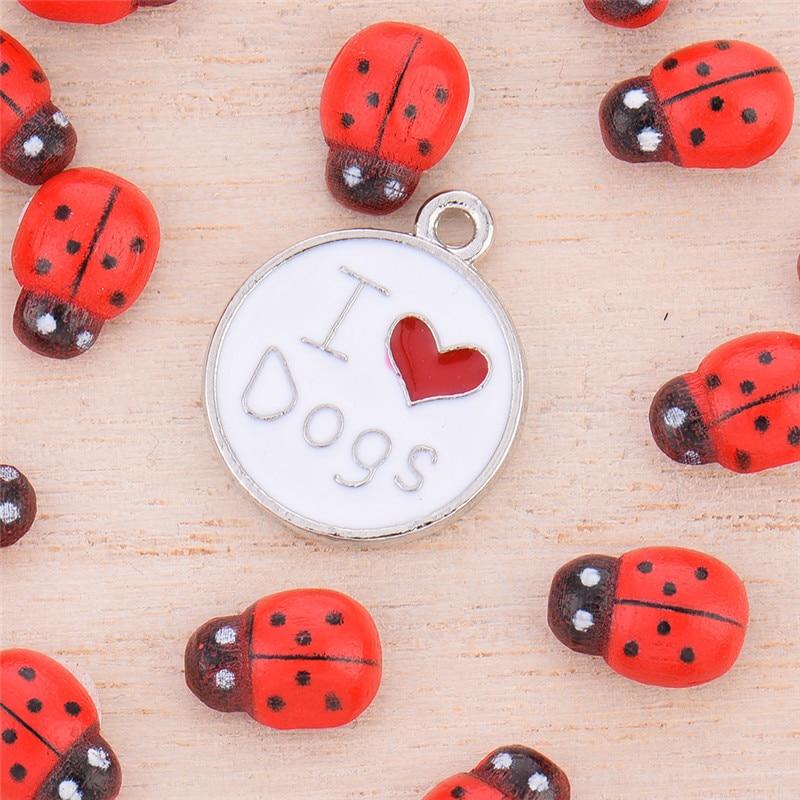 Metal Durable Bone Style Pendant Pet Decorations Key Ornaments leting you pet look more delightful