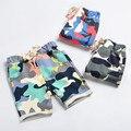 Retail Kids Boy Summer Girl Shorts/Pantalones Largos de Los Muchachos niños De Algodón de Camuflaje Pantalones Cortos Pantalones de Ropa de Calidad Superior