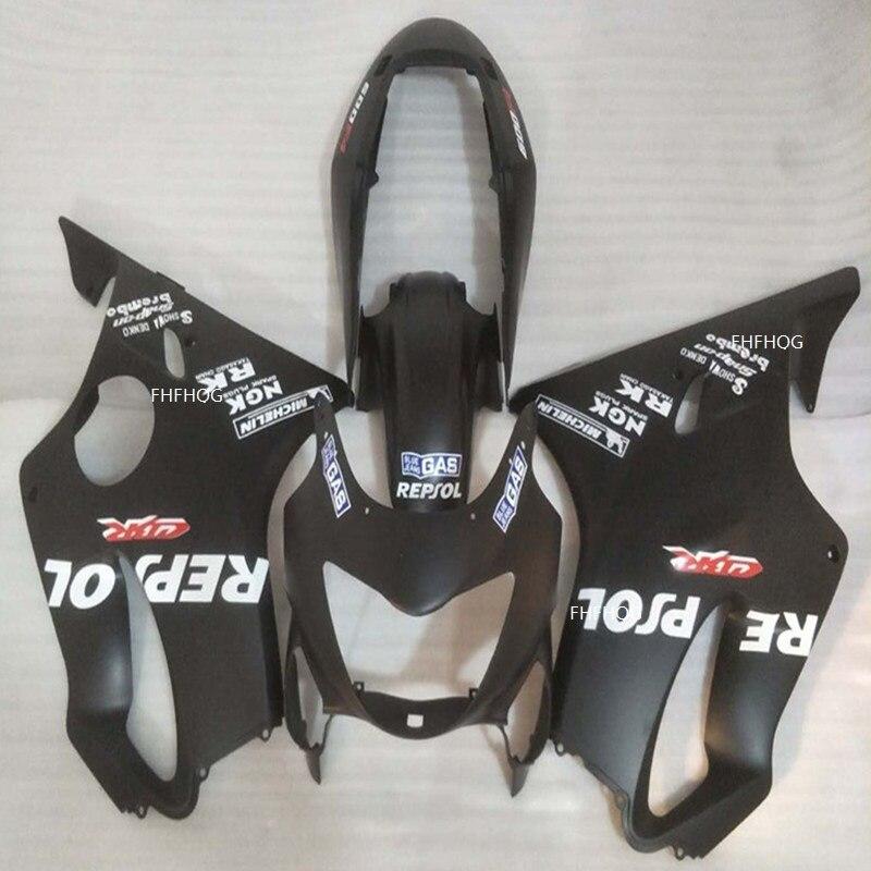 Hot, carénages de moulage par Injection CBR600 F4 1999 2000 pour Honda CBR 600 99 00 moulage de carénage de moto noir