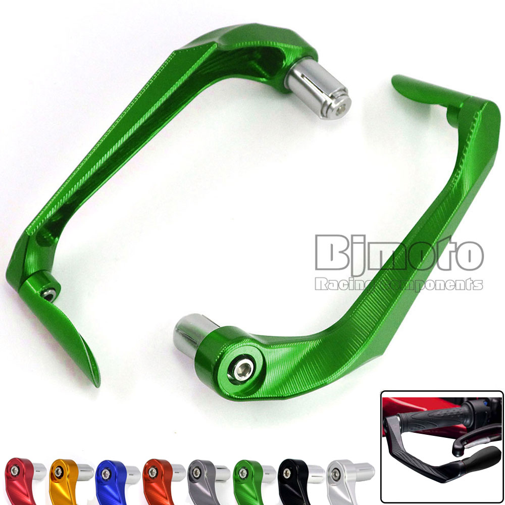 LG-005 Universal Motorcycle Protector Handlebar Brake Clutch Levers Protect Guard For Kawasaki Ninja 250 300 EX250 EX300 Z250 Z3 motorcycle handlebar protector guard