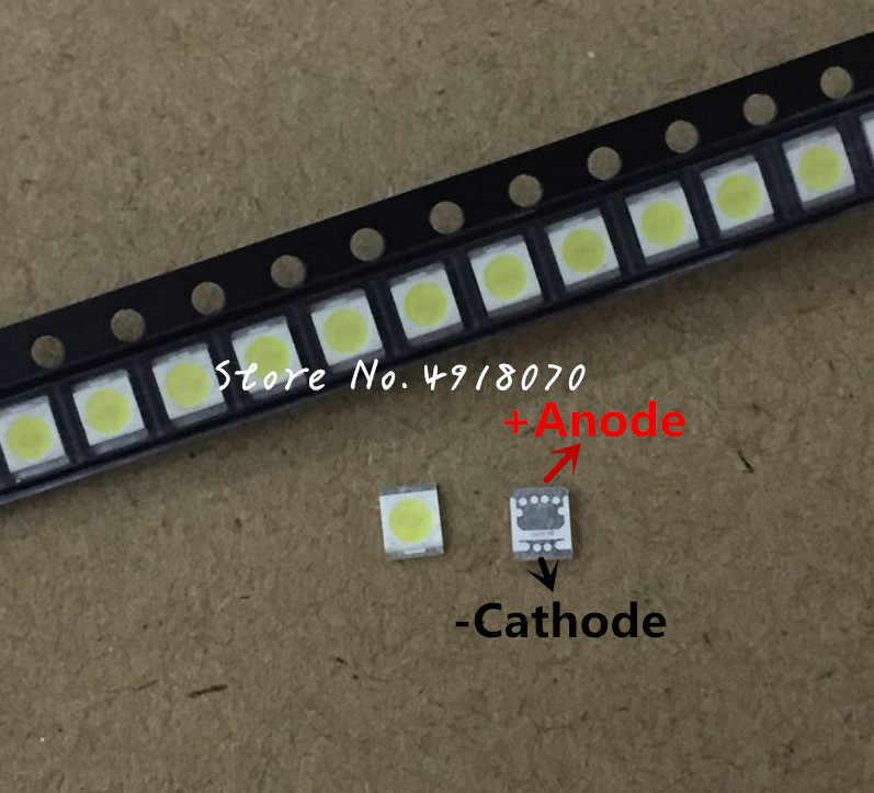 2000 PC Сеул LG высокого Мощность светодиодный Светодиодный Подсветка 1210 3528 2835 1 W 3 V 100LM холодный белый SBWVT121E ЖК-дисплей Подсветка для ТВ Применение