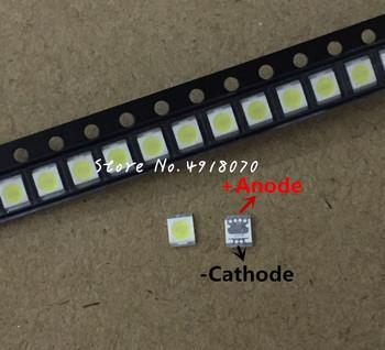 2000 PC seulu LG LED wysokiej mocy podświetlenie LED 1210 3528 2835 1 W 3 V 100LM zimny biały SBWVT121E podświetlenie LCD do TV TV aplikacji tanie i dobre opinie Piłka 3528 2835 3V 1W Cold white