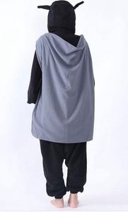Image 4 - ملابس نوم Kigurumi للكبار مطبوع عليها رسوم كرتونية على شكل باتمان ملابس نوم نيسيي للجنسين ملابس نوم على شكل حيوانات ملابس نوم بدلة نوم للحفلات