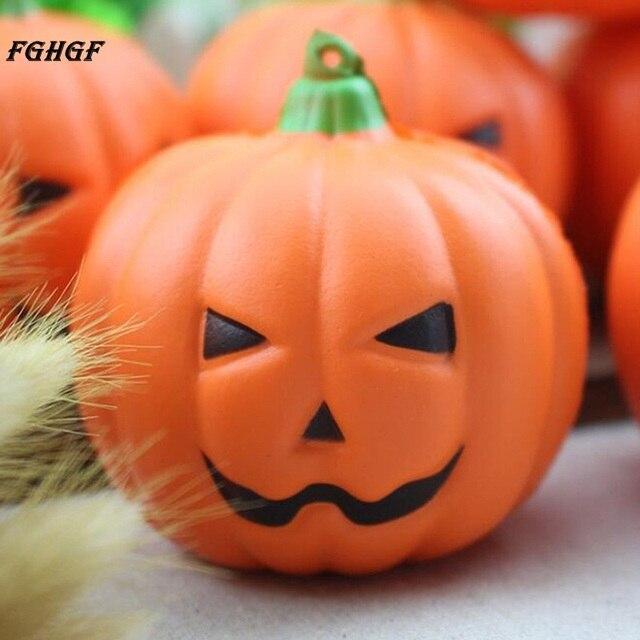 Pompoen Voor Halloween.Us 2 69 Fghgf Kunstmatige Nep Decoratieve Pompoen Halloween Props Fotografie Decor Mooie Pompoen Squeeze Fun Gift Stress Reliever Speelgoed In Fghgf