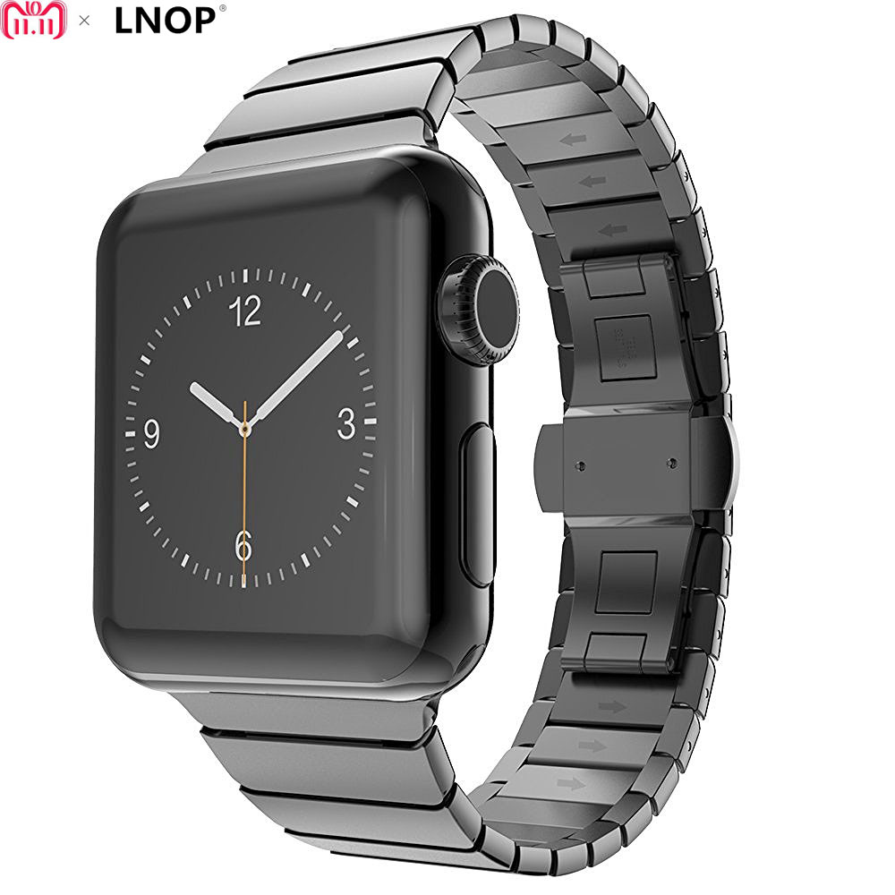 Luxury metal strap For Apple watch band 4/3/2/1 iwatch 40/38mm 44/42mm stainless steel Link bracelet butterfly buckle wristblet willtoo hight quality luxury butterfly lock link stainless uomo bangle chain steel band strap regulator for apple watch 42mm